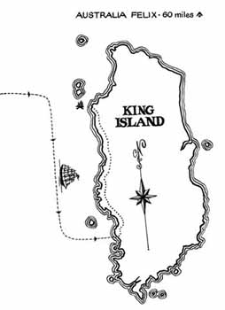 Map of King Island